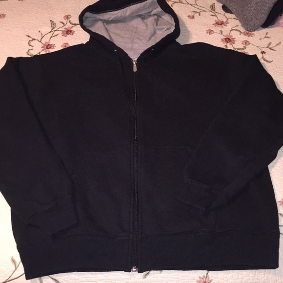 098d20a4 Champion Shirts | Black Full Zip Hoodie | Poshmark